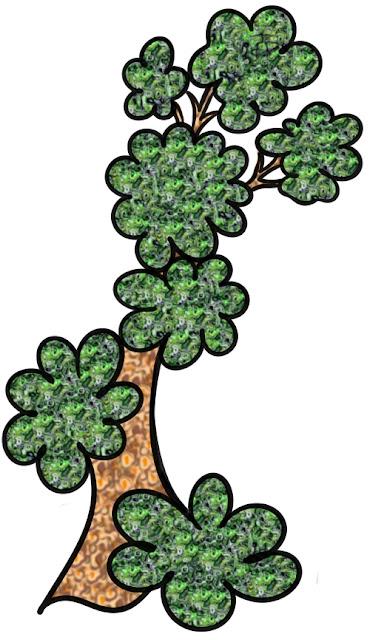 волшебное дерево, арт