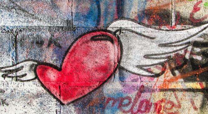 Kalp, Kanat, Sevgi