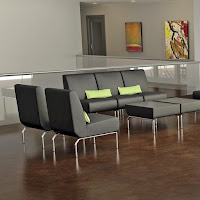 Connectable Lobby Seating