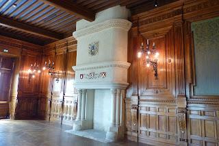 Interior del Castillo de Grignan.