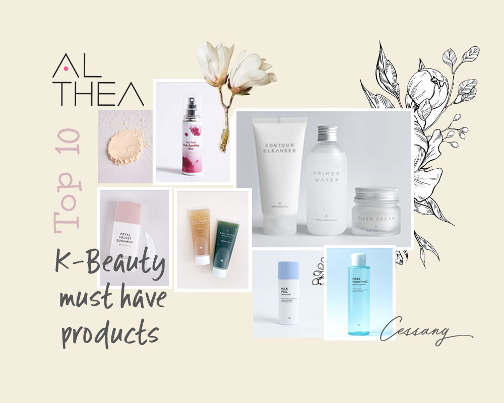 TOP 10 K-BEAUTY PRODUCTS MUST-BUY AT ALTHEA KOREA