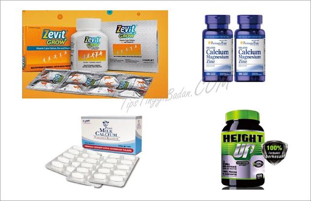 Vitamin Peninggi Badan di Apotik
