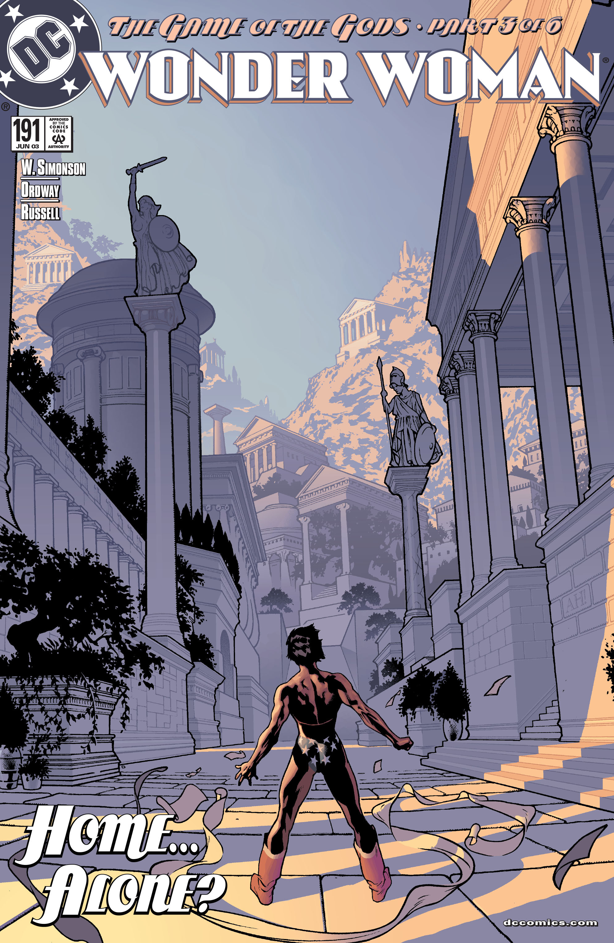 Read online Wonder Woman (1987) comic -  Issue #191 - 1