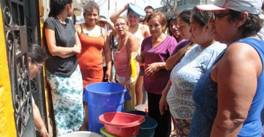 Lima sin agua y estanques de SEDAPAL en nivel crítico