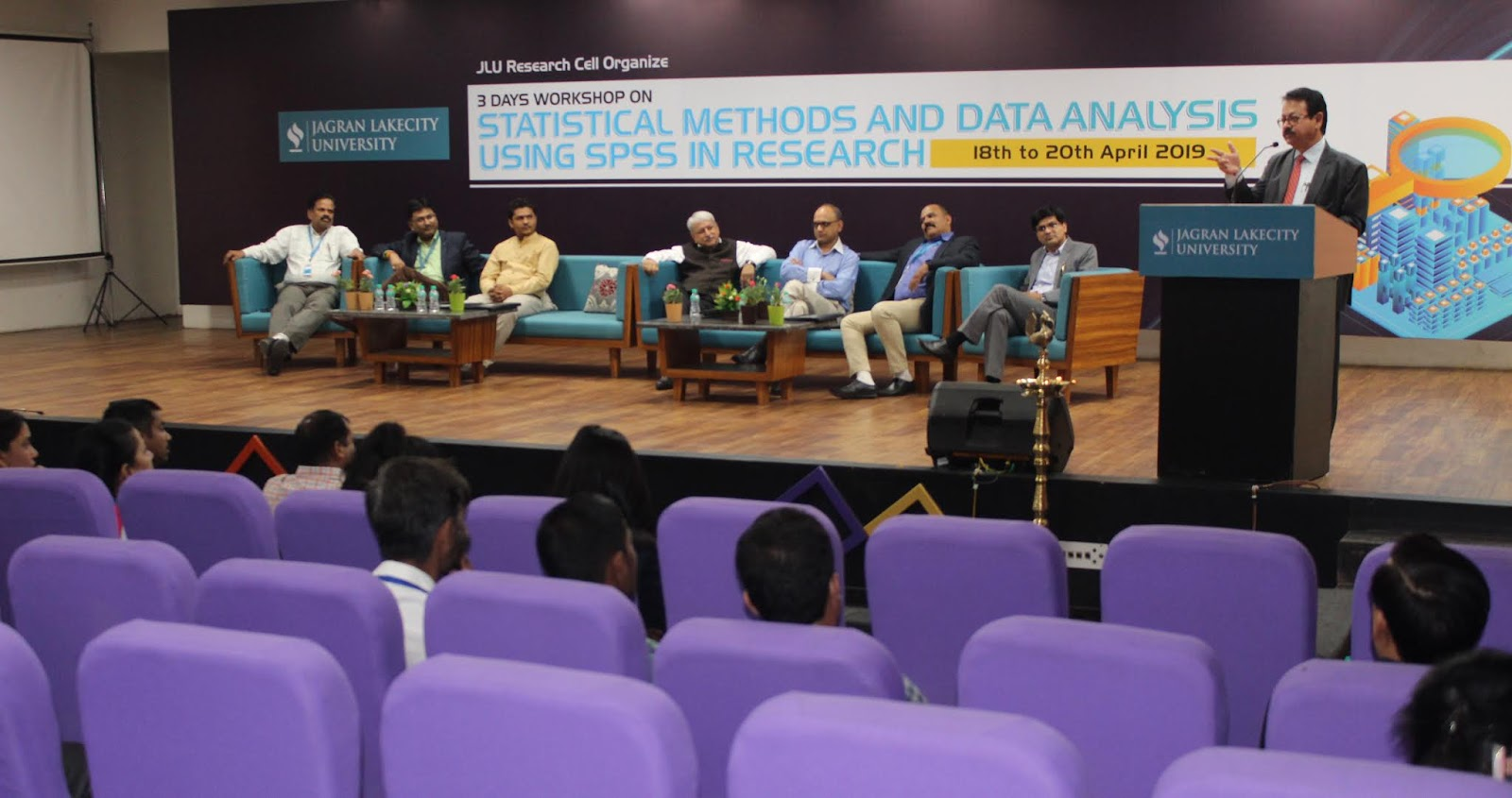 JLU's Research Cell hosts 3 Days Workshop on 'Data Analysis