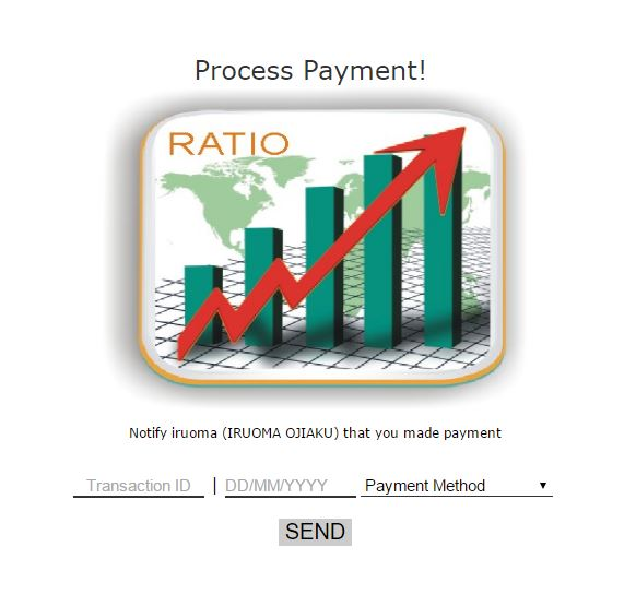 How To Send Payment Notification if you are been merged on multiple merging on Cash Primer Ratio Trade