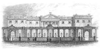 Carlton Palace  from Memoirs of George IV by Robert Huish (1831)