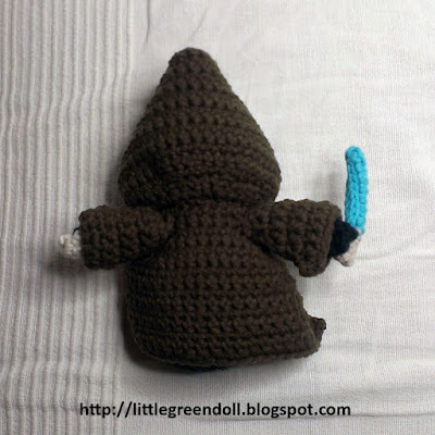 Star Wars Anakin Skywalker amigurumi