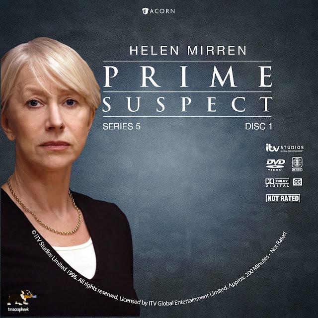 Prime Suspect Season 5 Disc 1 DVD Label