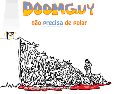 Doomguy não precisa de pular