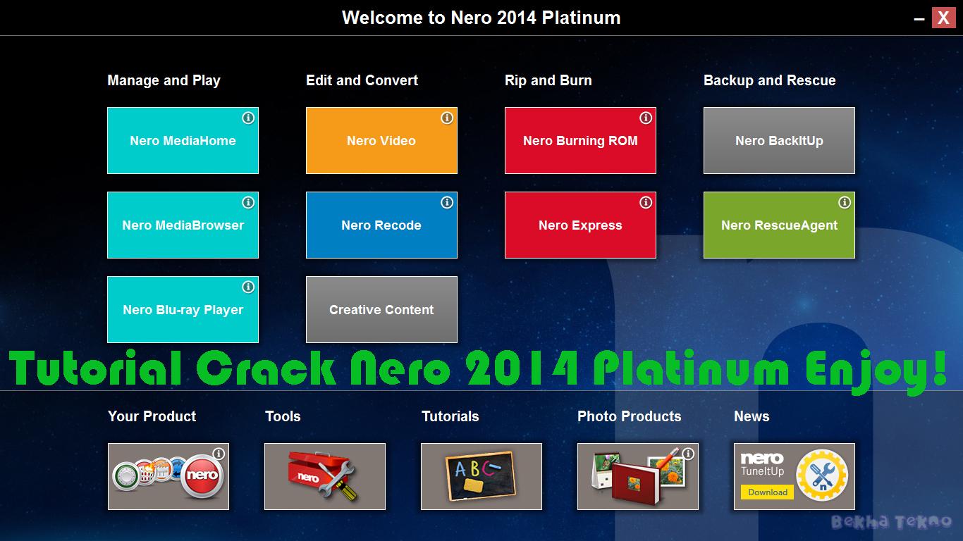 nero 2014 crack download full version