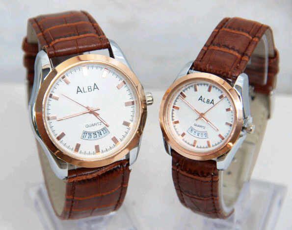 model jam tangan alba kw couple sl25 leather murah df98e14e43