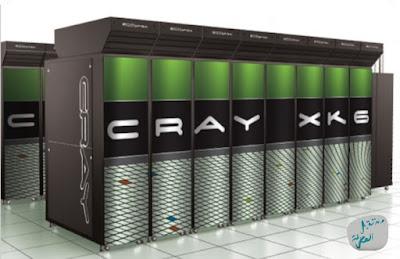 حواسيب عملاقة عالية الأداء من صناعة شركة Cray التي استحوذت عليها إتش بي HP
