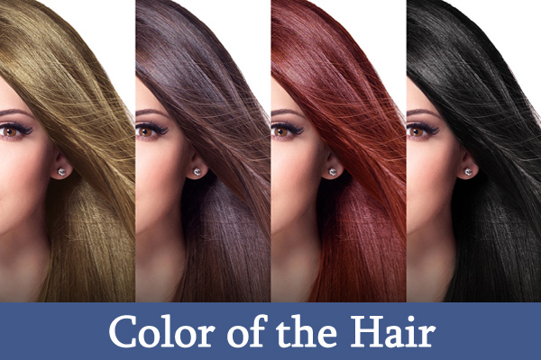 Color of the Hair