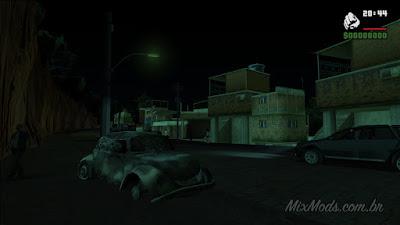 gta san mod noites escuras cedo gta brasil brasileiro favela