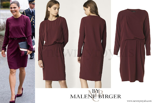 Crown Princess Victoria wore By Malene Birger Acarmar Dress