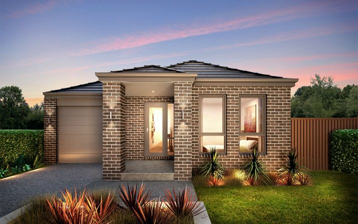 Small modern homes exterior views. | Modern Home Designs