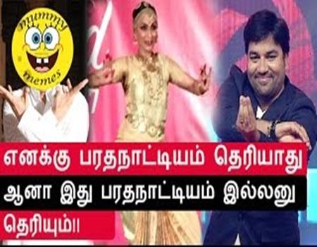 Aishwarya Dhanush Bharatnatyam funny videos