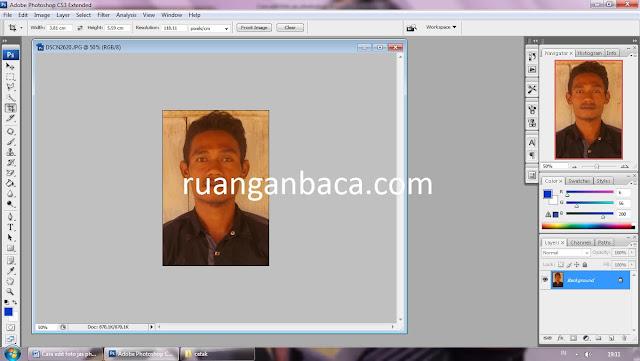 Cara edit foto pakaian jas photoshop