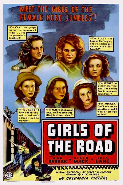 Girls of the Road 1940 movieloversreviews.filminspector.com poster