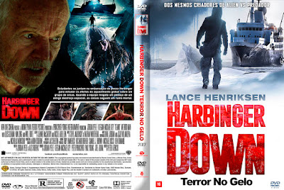 Filme Harbinger Down - Terror no Gelo DVD Capa
