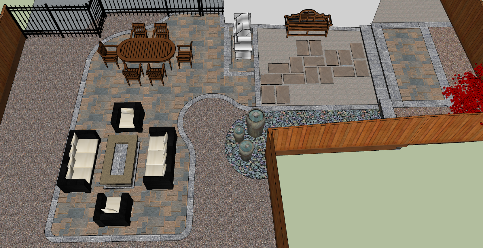 Landscape Design Guru on Sketchup Backyard id=67205