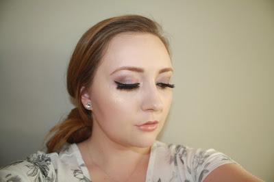 purple smokey eye prom tutorial