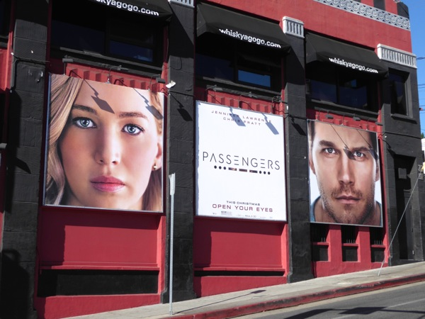 Passengers film billboards Whisky A Go-Go