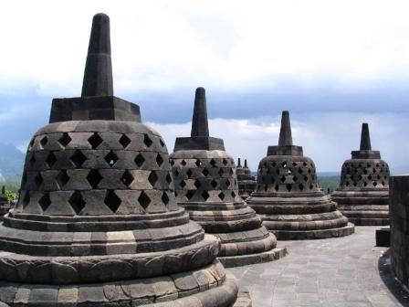 Candi Borobudur Jawa Tengah