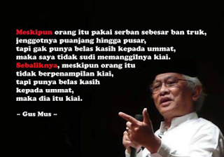 Kata-kata Mutiara Gus Mus