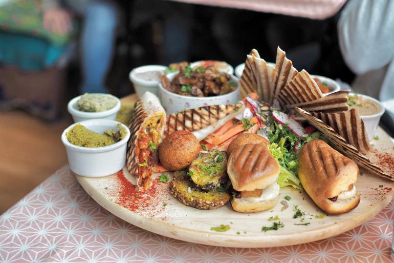 Bonne adresse à Caen : restaurant vegan / végétarien Greedy Guts