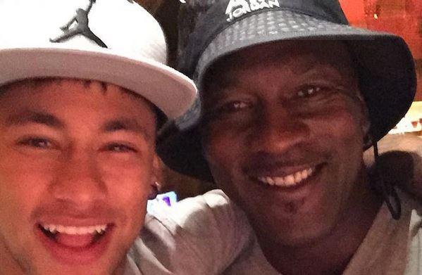 Neymar e Michael Jordan