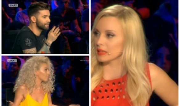 Η πρώτη σοβαρή κόντρα στο X Factor! Η Πέγκυ Ζήνα σε σύγκρουση με Μαραντίνη και Τάμτα!