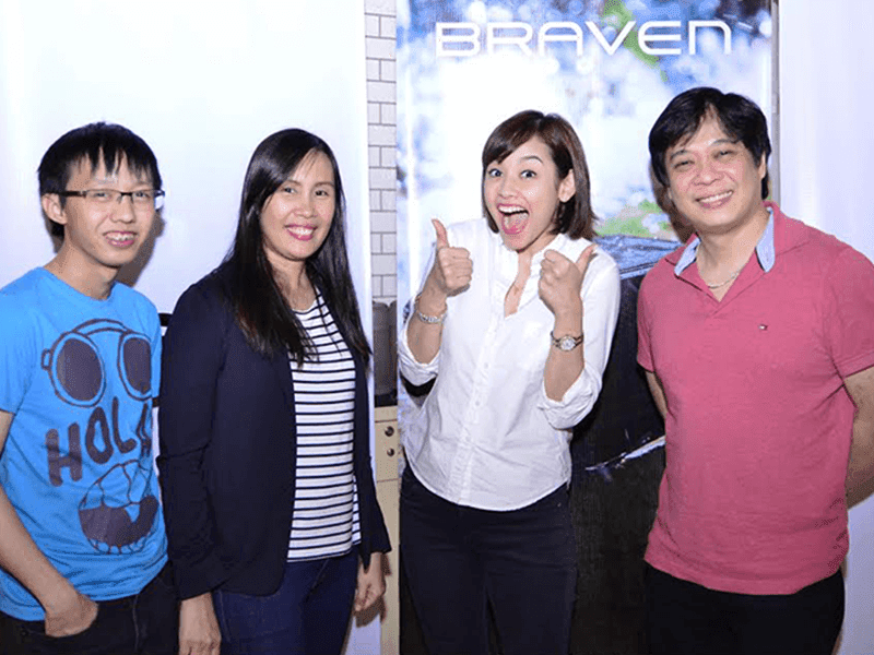 Bea Benedicto with Cristoff Sy, Gelyn Custodio and Howard Paw
