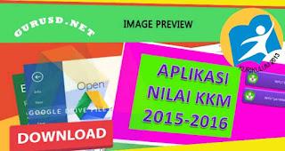 KKM Kurikulum 2013 Kelas 3 dan 6 Aplikasi Excel untuk SD/MI