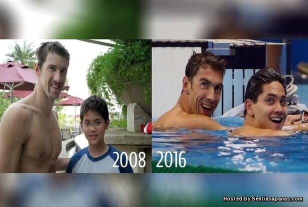 Joseph Scooling Defeats Michael Phelps Olympics Rio 2016