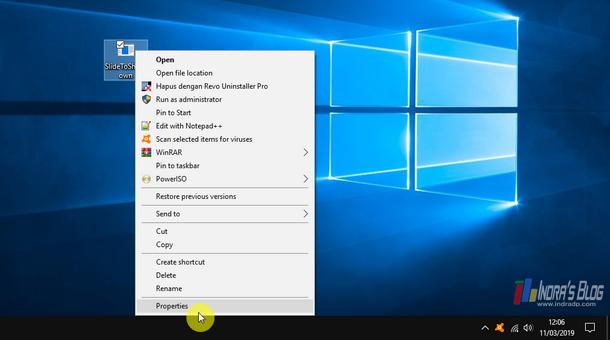 Cara Menggunakan Fitur Slide To Shutdown di Windows 10
