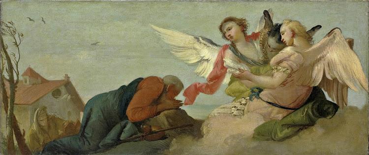Francesco Zugno - Abraham and the Three Angels