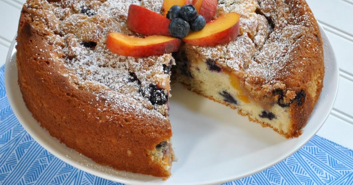 Peach Coffee Cake Southern Living