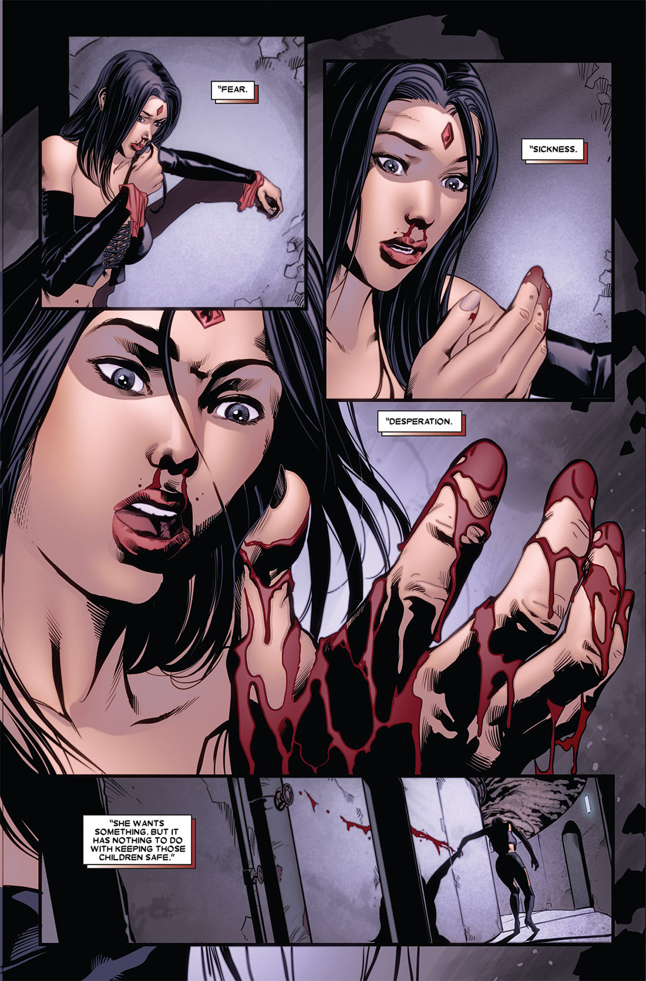 Read online X-23 (2010) comic -  Issue #5 - 12