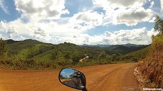Muitas curvas pelo Caminho dos Diamantes - Estrada Real.
