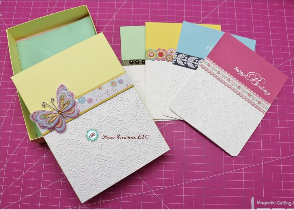 Paper creations etc handmade cards envelopes and box for Handmade paper creations