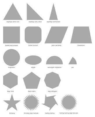 bidang shape desain