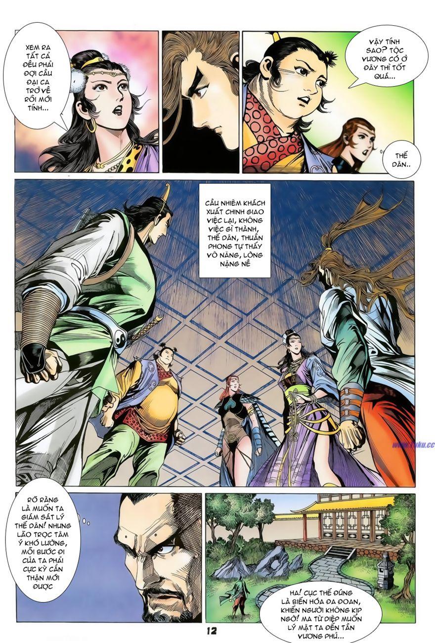 Đại Đường Uy Long chapter 73 trang 12
