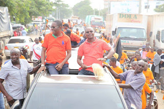 Lazima Kielweke Rally in Malindi held by the county governor Amason Kingi.