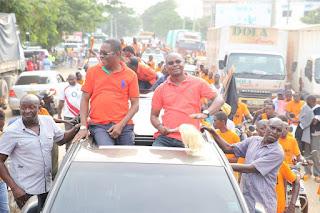 Lazima Kielweke Rally in Malindi held by the county governor Amason Kingi.