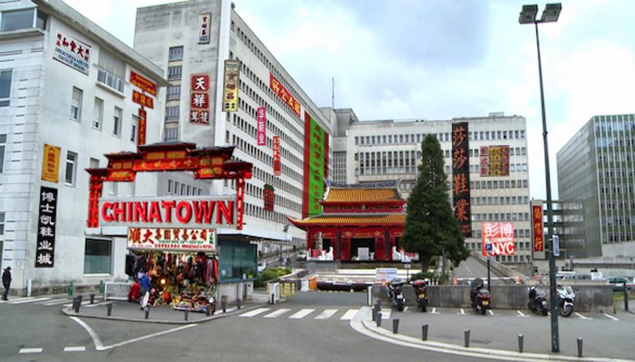 nantes original news avec le d m nagement du chu l hotel dieu se mue en chinatown. Black Bedroom Furniture Sets. Home Design Ideas