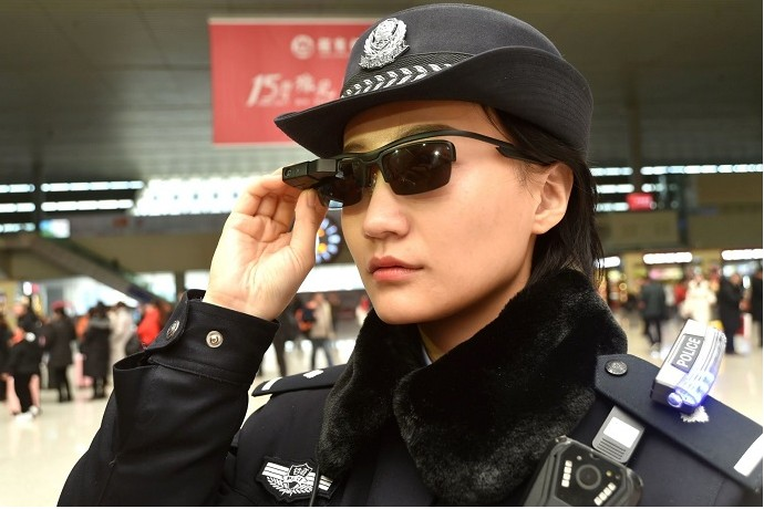 Police Officers in China Now Wear Smart Glasses With Facial Recognition Technology