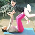 Amara Kanu and her daughter work out together (photos/video)