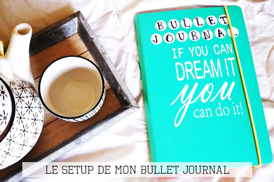 Bullet Journal (mon setup en 8 étapes)